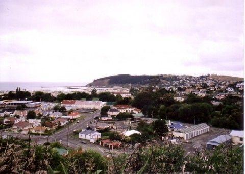 Oamaruの風景