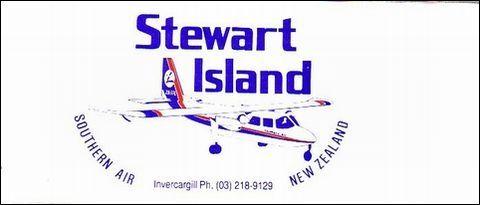 スチュアート島への飛行機のチケット