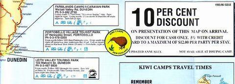 KIWI CAMPSのパンフ